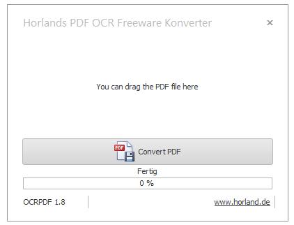 Pdf In Durchsuchbare Pdf Umwandeln Freeware